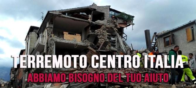 Sostegno alle comunità colpite dal terremoto